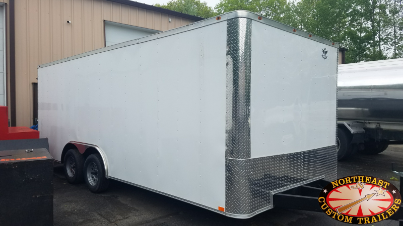 2018 Empire Cargo Concession Trailer Special Enclosed Cargo Trailer