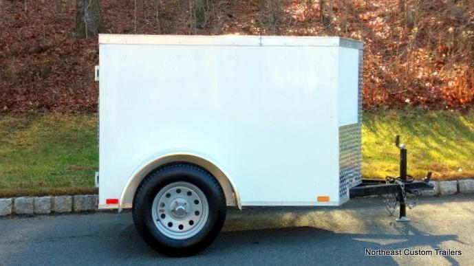 4 X 6 Enclosed Cargo Trailer