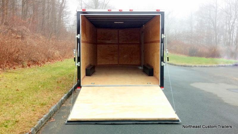 8.5 X 24 TA Enclosed Cargo Trailer