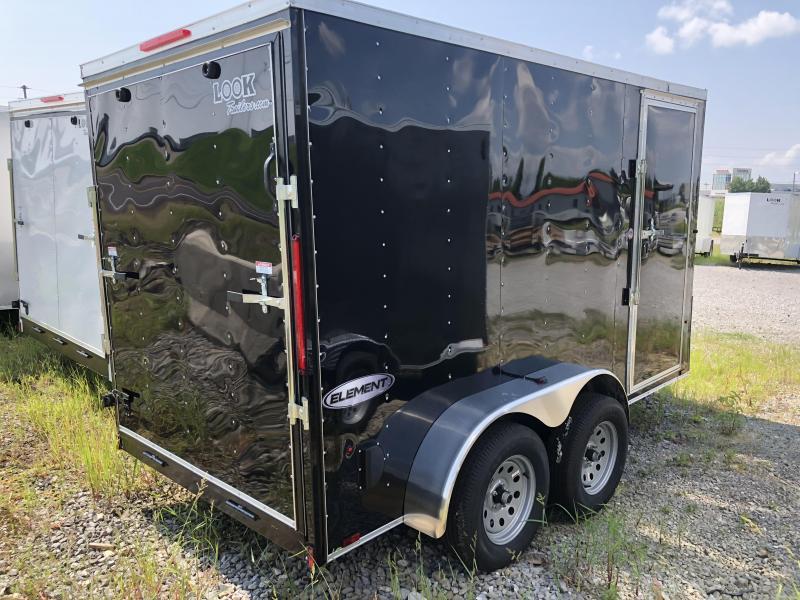 2019 Look Trailers EWLC6X12TE2 Flat Top Cargo / Enclosed Trailer