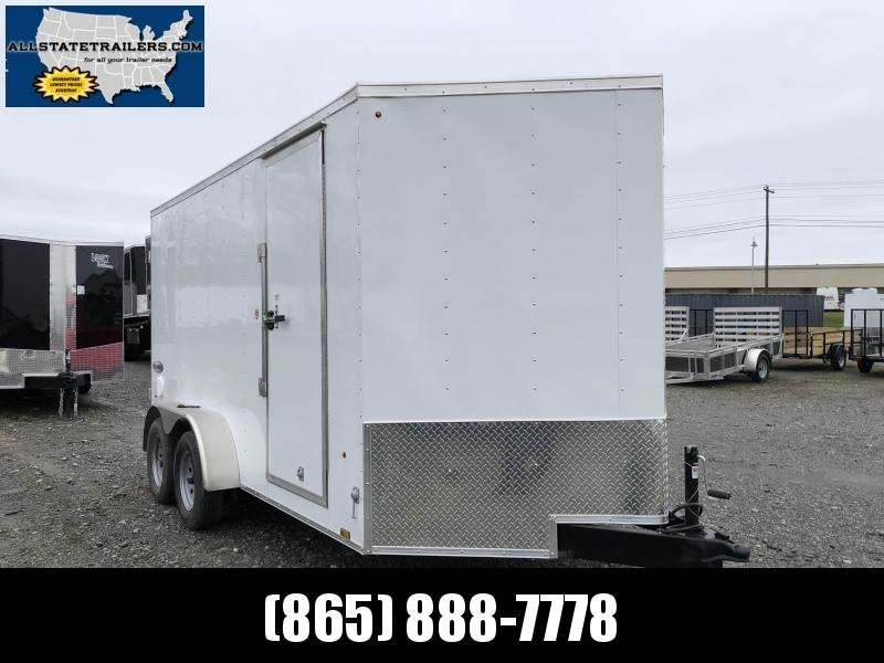 2020 Look Trailers EWLC7X14TE2  (7 X 14) Element Ramp Door V-Nose Cargo / Enclosed Trailer in Mills River, NC