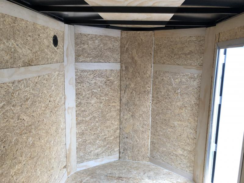 2019 (5 X 8) Enclosed Trailer Rear Ramp Door