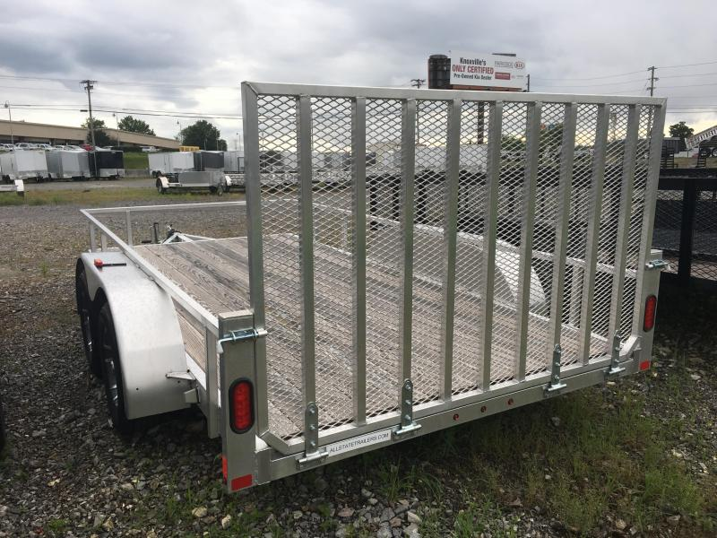 2015 Mission (6.5 x 12)  MLS 6.5x12-A Utility Trailer