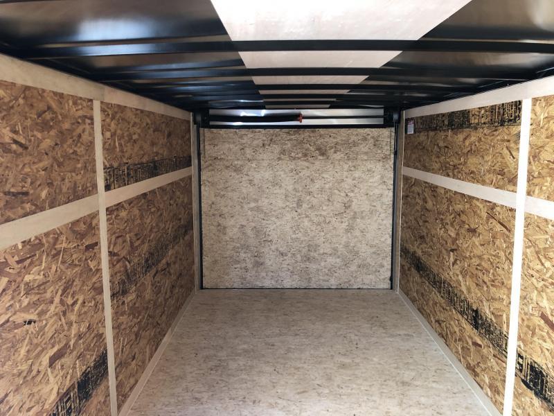 2019 Look Trailers STLC7X16TE2  (7 X 16)  Ramp Door V-Nose Cargo / Enclosed Trailer