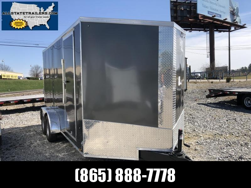 2020 Look Trailers EWLC7X14TE2SE  (7 X 14) Element Ramp Door V-Nose Cargo / Enclosed Trailer