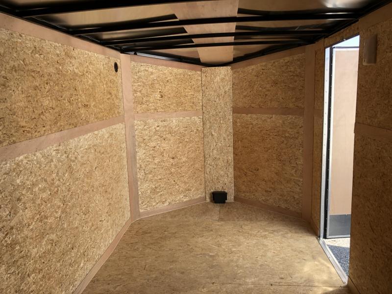 2020 Look Trailers EWLC7X14TE2SE  (7 X 14) Element Ramp Door V-Nose Cargo / Enclosed Trailer