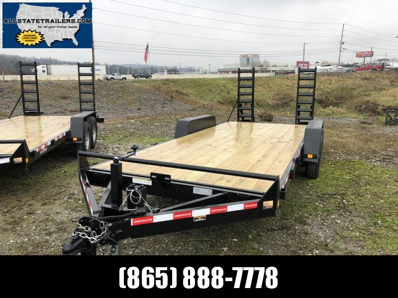 2019  (7 X 20) 140000# GVWR Currahee E720.14KD Equipment Trailer