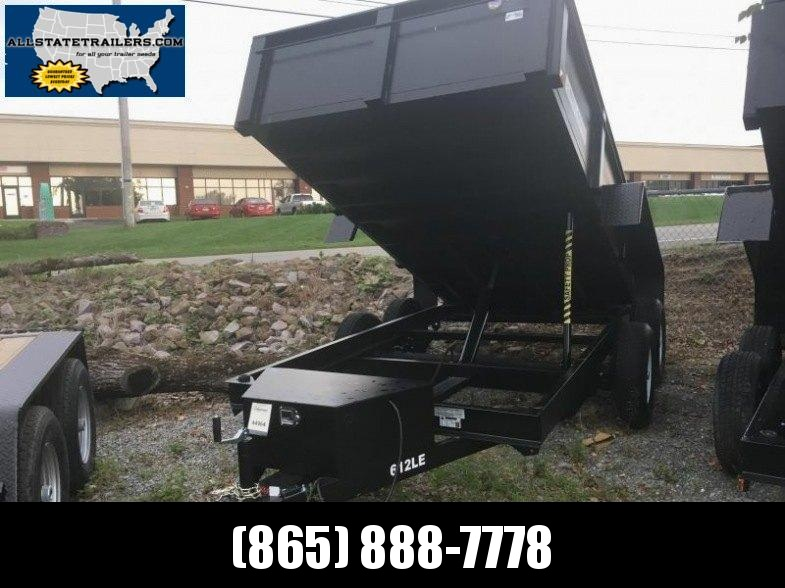 2018 Bri-Mar DT612LP-LE-10 Dump Trailer 6 x 12 Dump Trailer in Ashburn, VA