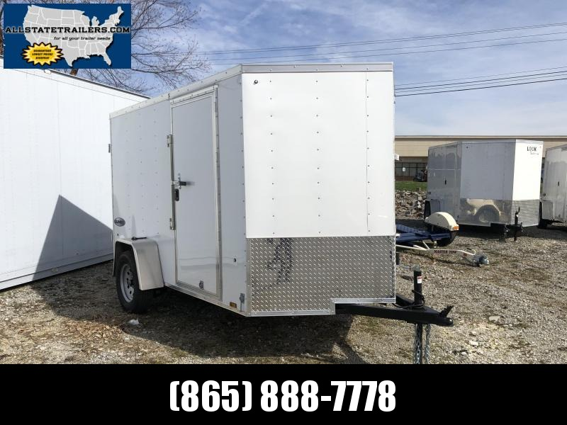 2020 (6 X 10) Enclosed Trailer Double Rear Door