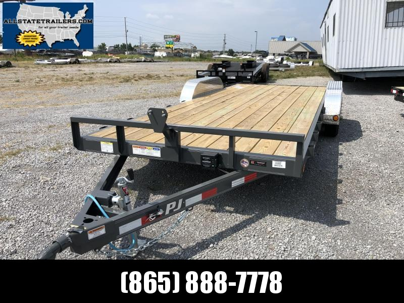 2020 PJ Trailers (7 x 20) 7000# GVWR Channel Carhauler Trailer