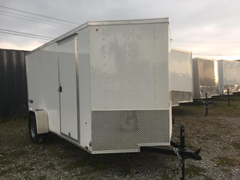 2018 (6 x 12) Look Trailers EWLC6X12SI2 Flat Top Cargo / Enclosed Trailer