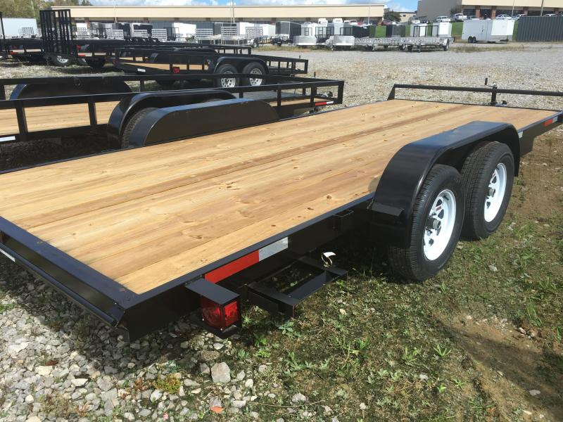 2017 Caliber Trailer Mfg 7 x 18 CF718 Car / Racing Trailer