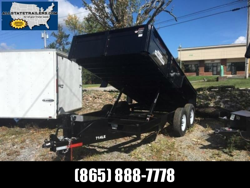 2018 Bri-Mar DT714LP-LE-14 ( 7 x 14) 14000# GVWR Dump Trailer in Ashburn, VA