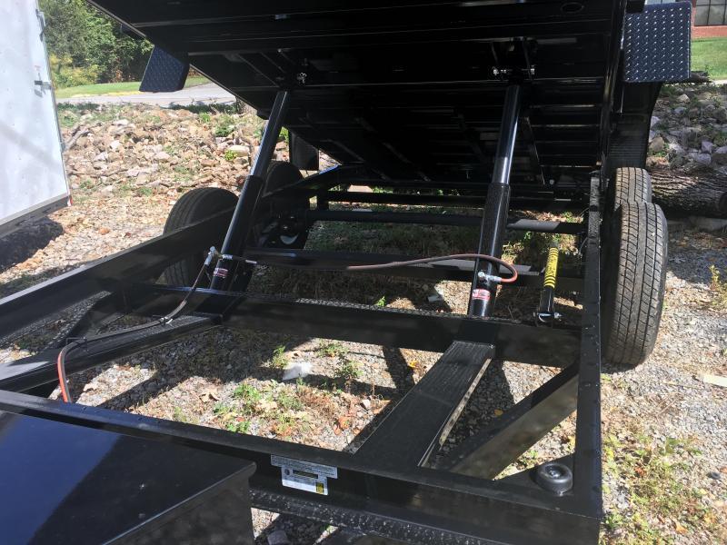 2018 Bri-Mar DT714LP-LE-14 ( 7 x 14) 14000# GVWR Dump Trailer