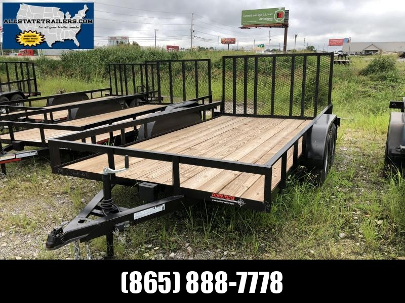 2018 Caliber Trailer Mfg EAGH714 Utility Trailer (7 x 14)