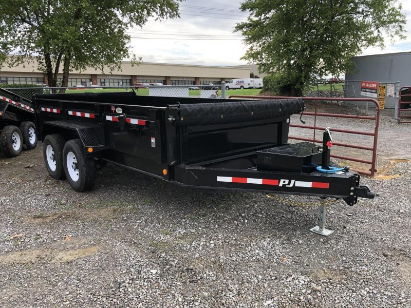 2020 PJ Trailers (7 X 14) DL142 Dump 14000# | Cargo Trailers