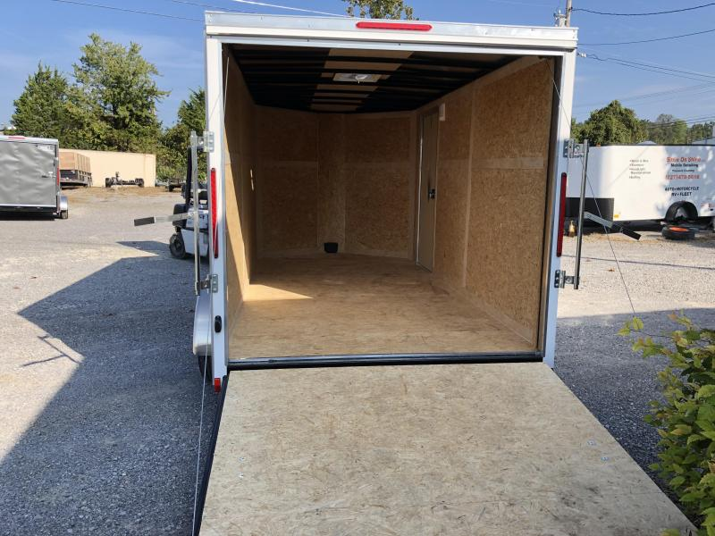 2019 Look Trailers EWLC7X14TE2  (7 X 14) Element Ramp Door V-Nose Cargo / Enclosed Trailer
