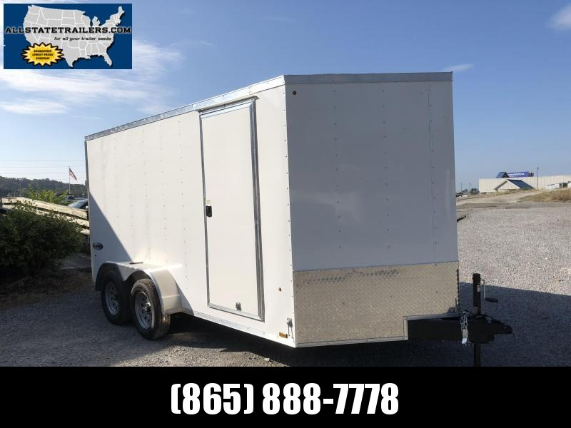 2019 Look Trailers EWLC7X14TE2  (7 X 14) Element Ramp Door V-Nose Cargo / Enclosed Trailer in Marietta, SC
