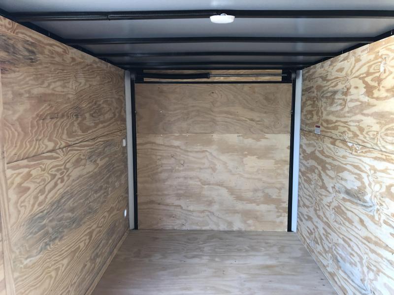 2019 Lark (7 x 14) 7000#GVWR Ramp Door VT714TA Enclosed Cargo Trailer