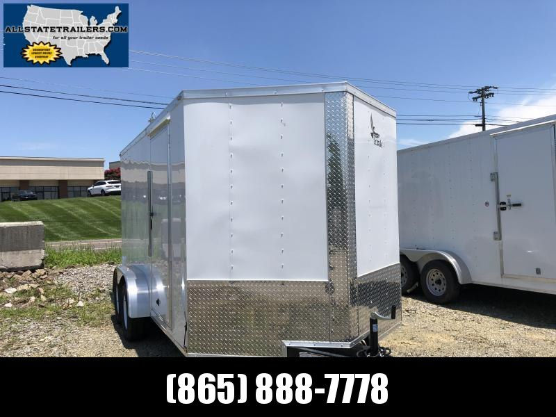 2019 Lark (7 x 14) 7000#GVWR Ramp Door VT714TA Enclosed Cargo Trailer in Hazelwood, NC