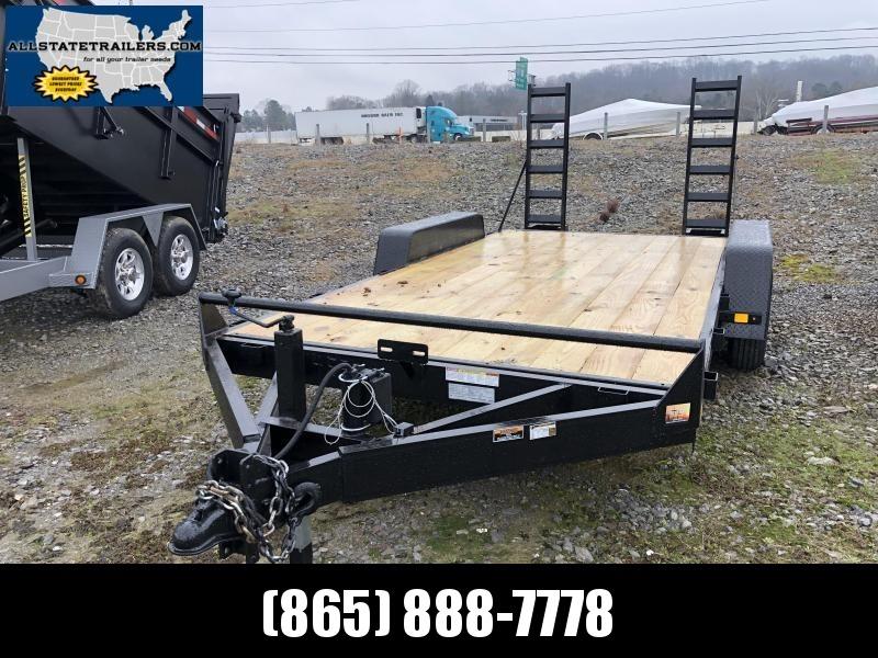 2019  (7 X 16) 10000# GVWR Currahee E716.10KD Equipment Trailer in Ashburn, VA