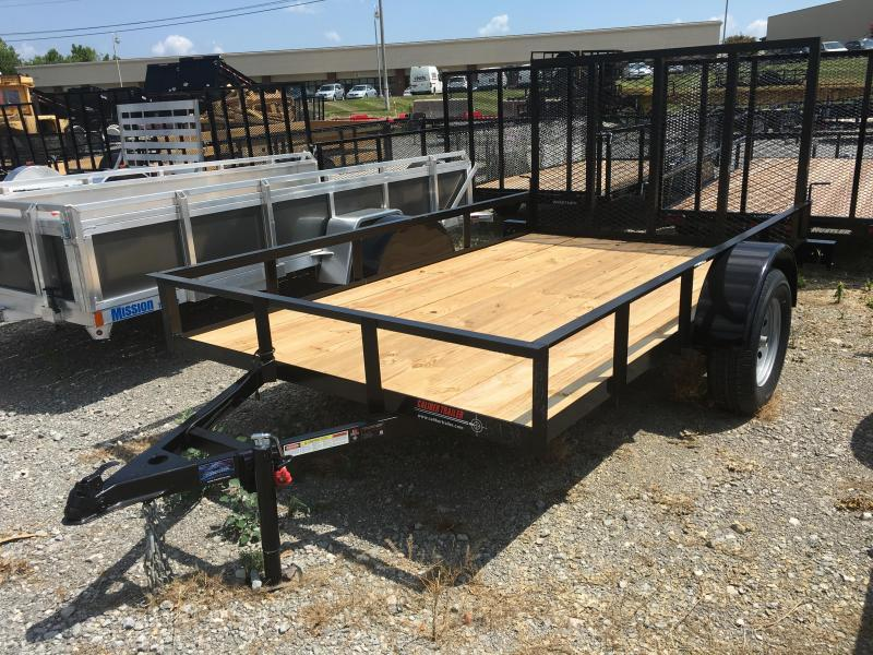 2018 Caliber Trailer Mfg EAGH610 Utility Trailer - 6 x 10