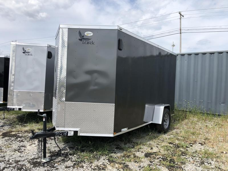 2020 Lark (6 x 12) Single Axle VT612SA Enclosed Cargo Trailer