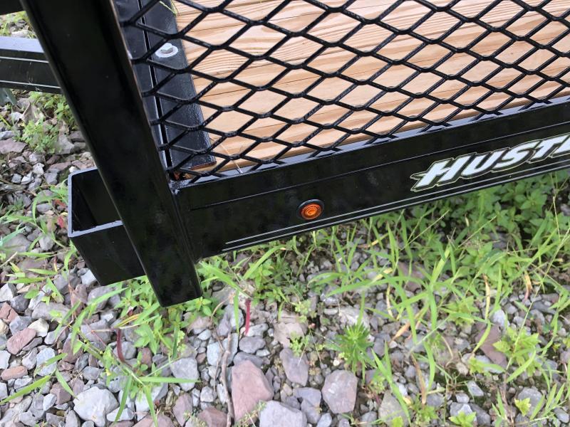2019 Hustler U1272-15 Utility Trailer 6 x 12