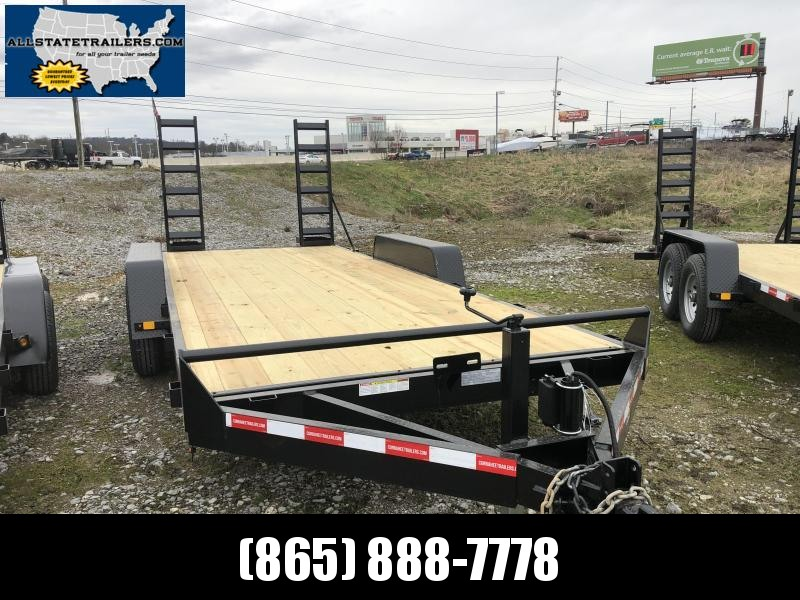 2019  (7 X 18) 120000# GVWR Currahee E718.12K Equipment Trailer