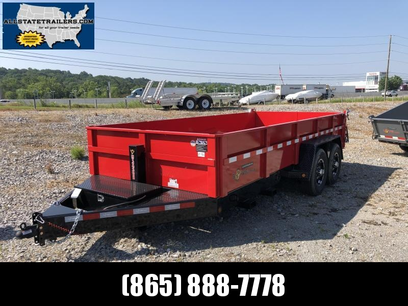2019 B-Wise Dump Trailer Heavy Duty 7 x 16 in Ashburn, VA