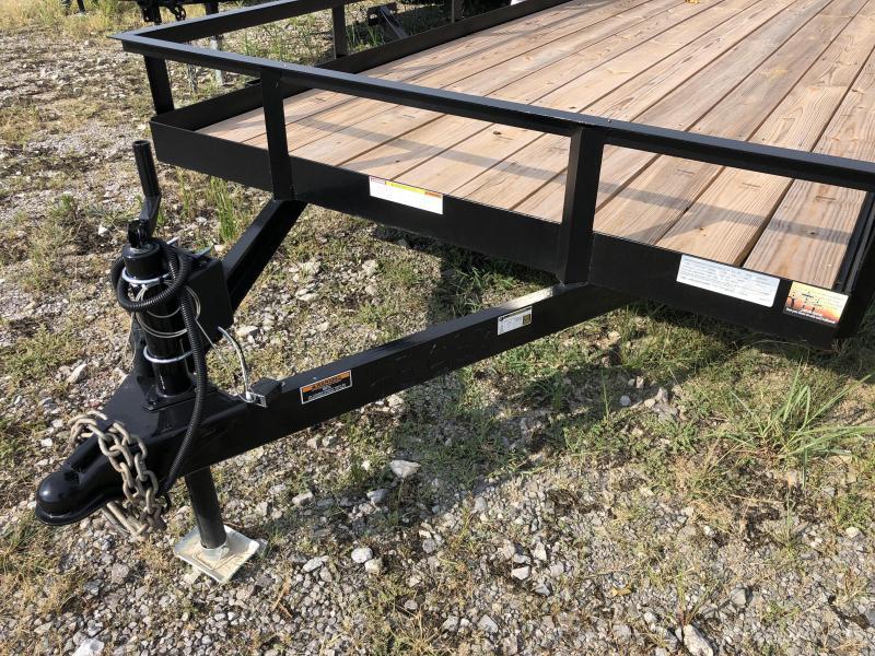 "2019 Currahee (6'4"" X 20) 7000# GVWR LD620 Utility Trailer"
