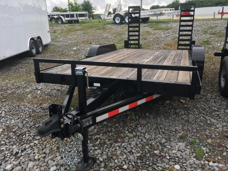 2016 Hustler UT1682EH Equipment Trailers 7 x 16