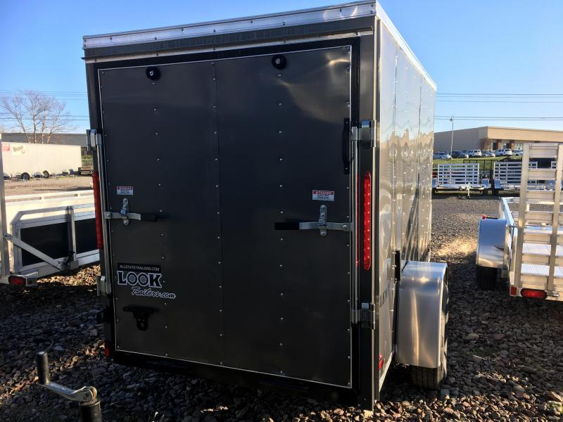 2016 (5 X 10) Enclosed Trailer Rear Ramp Door