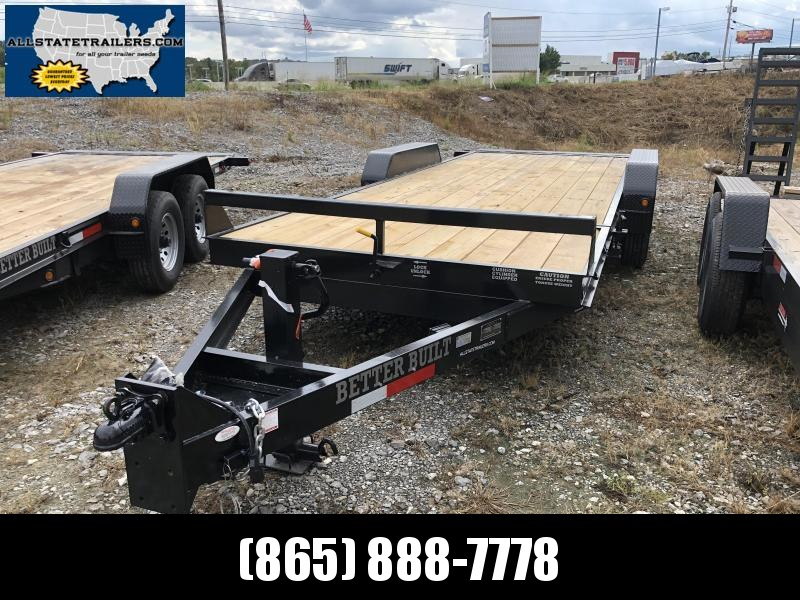 2018 Better Built ( 7 x 21 ) BH2122FB Equipment Trailer