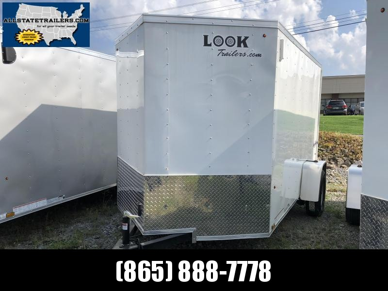 2019 (6 X 10) Enclosed Trailer Ramp Door in Marietta, SC