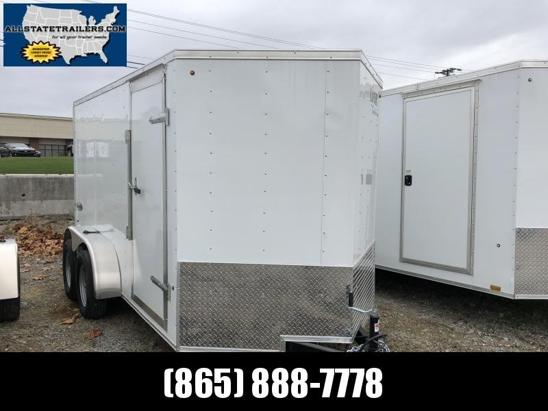2019 Look Trailers EWLC6X12TE2 Flat Top Cargo / Enclosed Trailer