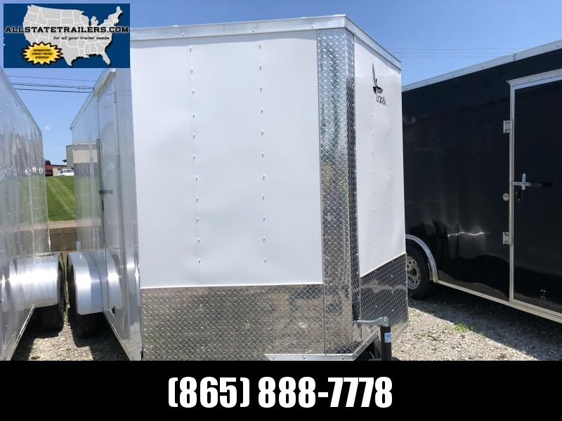 2019 Lark (7 x 16) 7000#GVWR Ramp Door VT716TA Enclosed Cargo Trailer in Hazelwood, NC