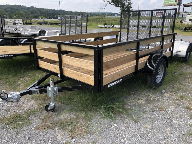 2018 Hustler U1072-15 Utility Trailer 6 x 10 (2' Wood Sides)