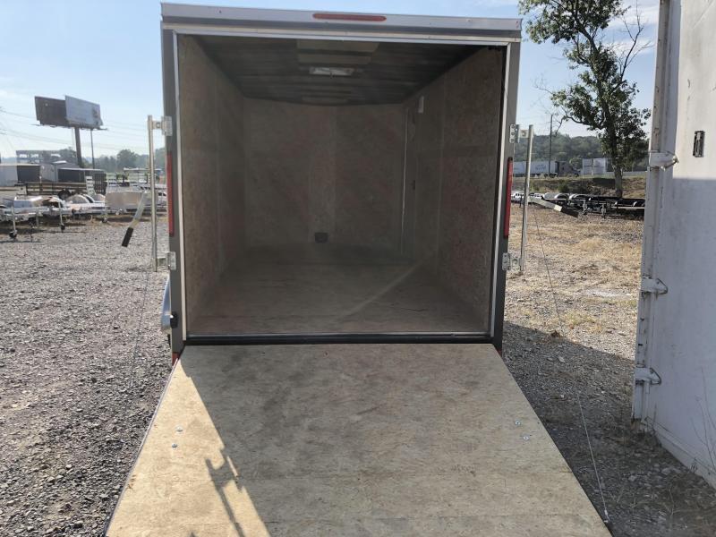2019 Look Trailers EWLC7X14TE2  (7 X 14) Element Ramp Door V-Nose Cargo / Enclosed Trailer
