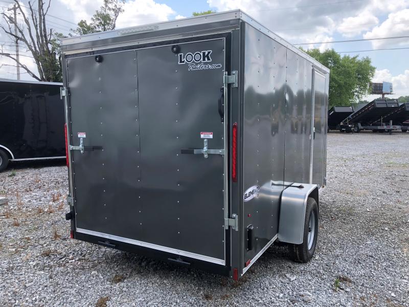 2019 (6 x 12) Look Trailers EWLC6X12SI2 Flat Top Cargo / Enclosed Trailer