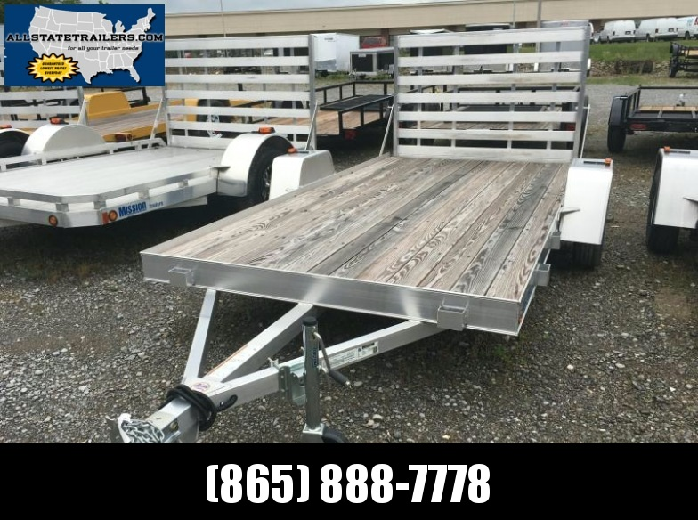 2016 Mission MU72X12DL-W Utility Trailer