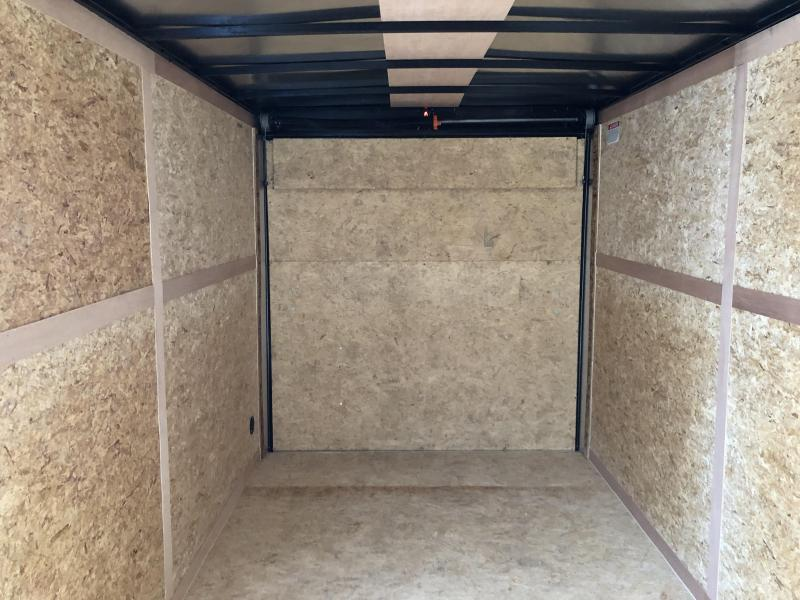 2020 Look Trailers EWLC7X14TE2  (7 X 14) Element Ramp Door V-Nose Cargo / Enclosed Trailer