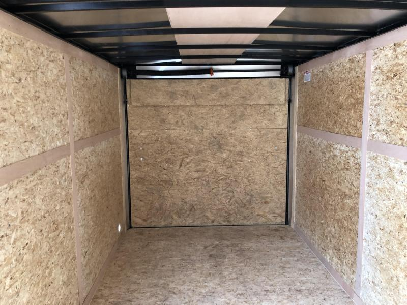 2020 Look Trailers EWLC7X16TE2  (7 X 16) Element Ramp Door V-Nose Cargo / Enclosed Trailer