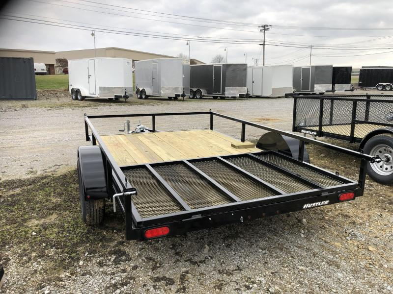 "2019 Hustler U1078-15 Utility Trailer (6'6"" x 10)"