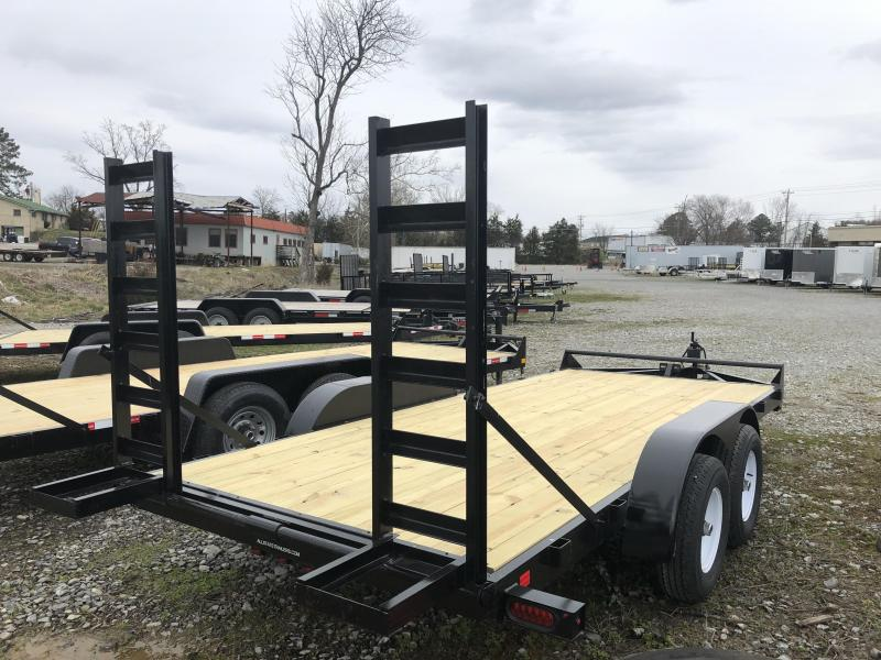2019  (7 X 16) 10000# GVWR Currahee E716.10K Equipment Trailer