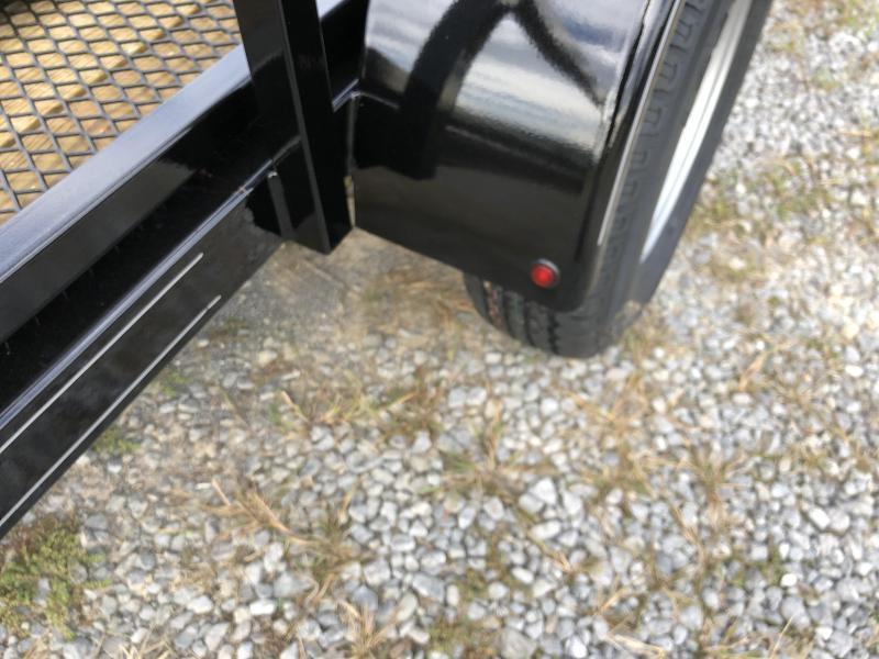 2019 Hustler U1072-15 Utility Trailer (6 x 12)
