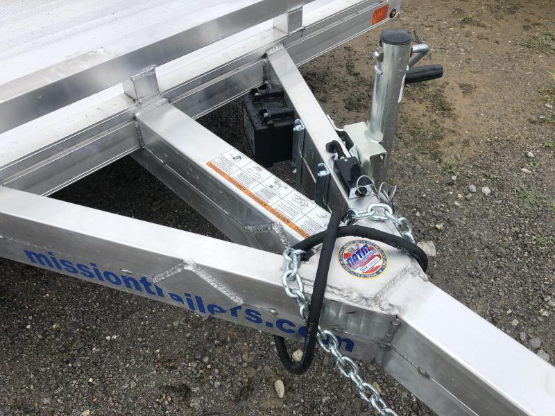 2020 Mission MU6.5X16FA-TA2.0 Utility Trailer