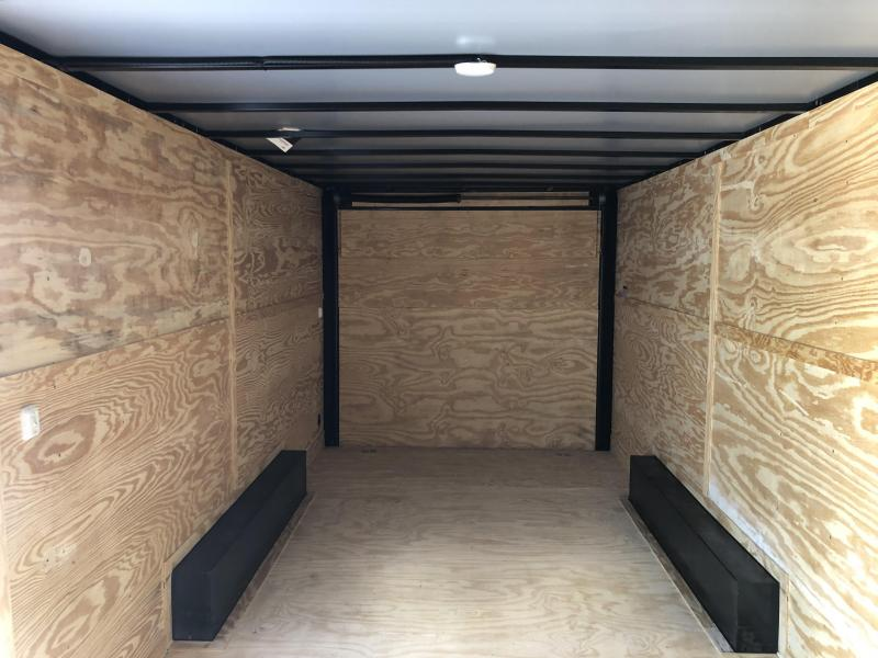2019 Lark (8 x 20) 7000#GVWR Ramp Door VT8.5X20TA Enclosed Cargo Trailer