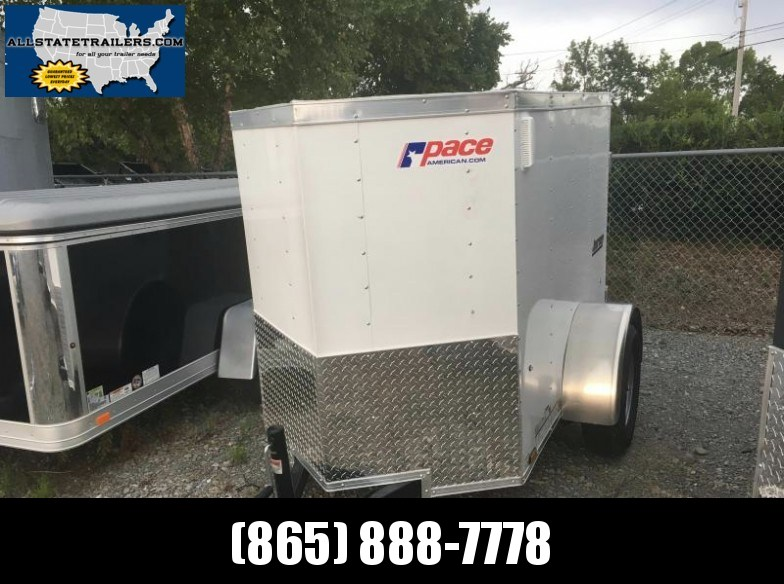 2018 (4 X 6)  Enclosed Trailer Single Swing Door