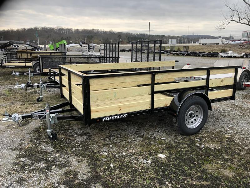 2019 Hustler U1072-15 Utility Trailer 6 x 10 (2' Wood Sides)
